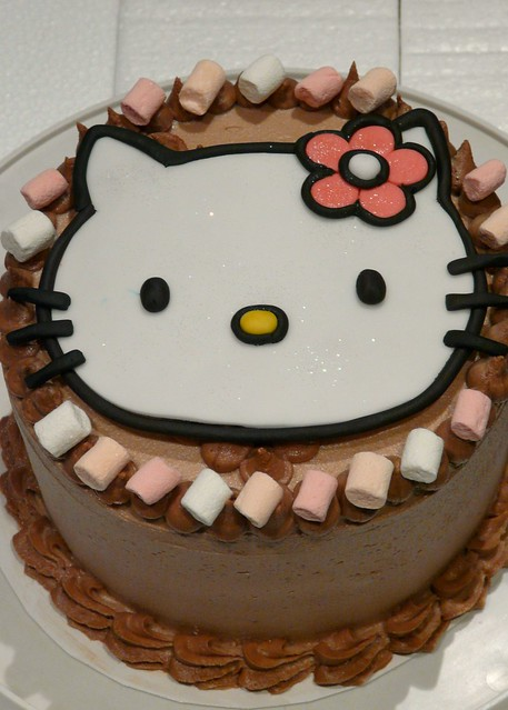 Birthday Cake Ki Images : Meow Birthday Cake Chocolate hazelnut cake with fondant ...