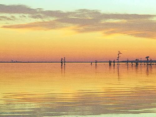 sunset water river nc waterfront northcarolina sound edenton edentonnc