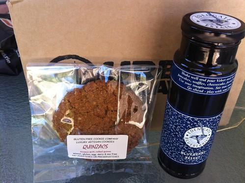 Urban Locavore - anzac biscuit & blueberry velvet