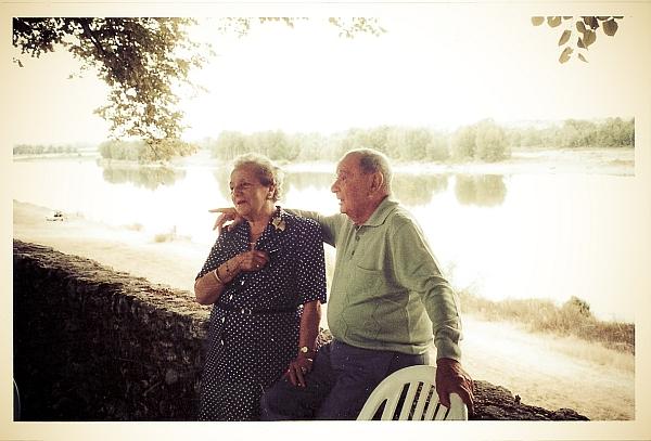 Papi et Mamie