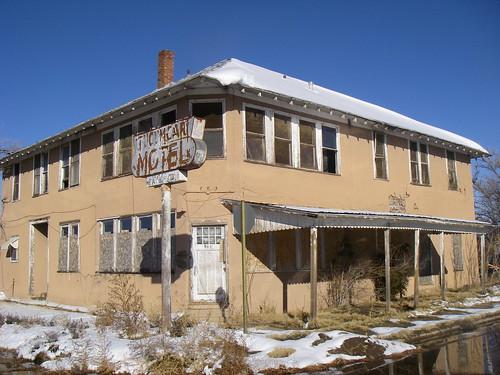 Abandoned Hotel - Tucumcari, New Mexico 20111220