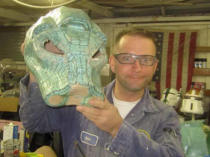 Terminator SM Helmet Rondo completed