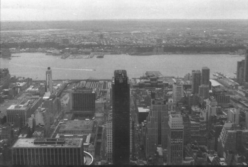 Hudson River from Empire State Building, Svema film