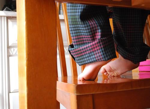 misha toes