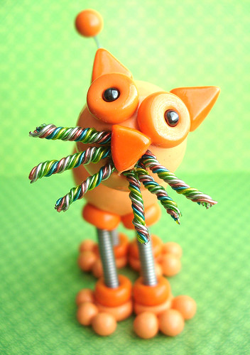 Olzo the cat | Hanging Ornament by HerArtSheLoves