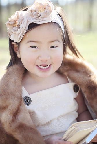 lily mink smile