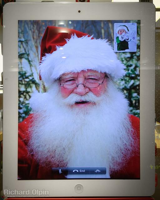 Santa's iPad!