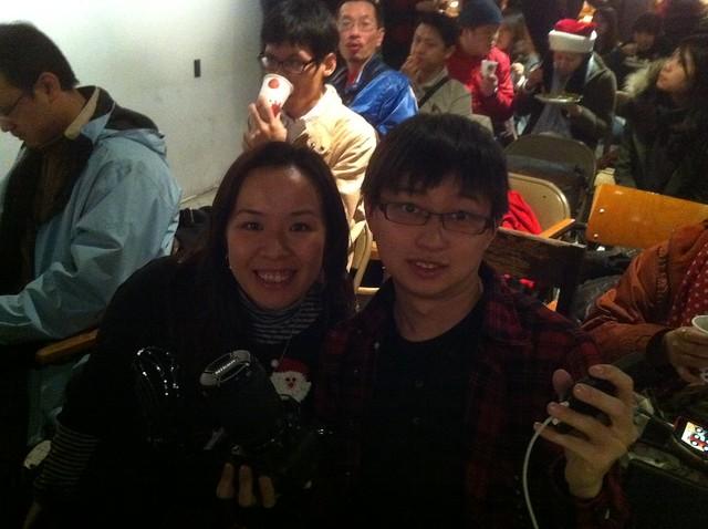 特別從香港飛來參加PP的Sheta和小亮