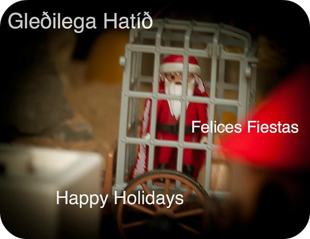 Santa Claus encarcelado