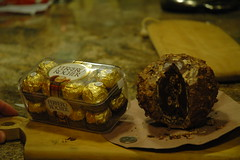 Homemade BIG Ferrero Rocher 6