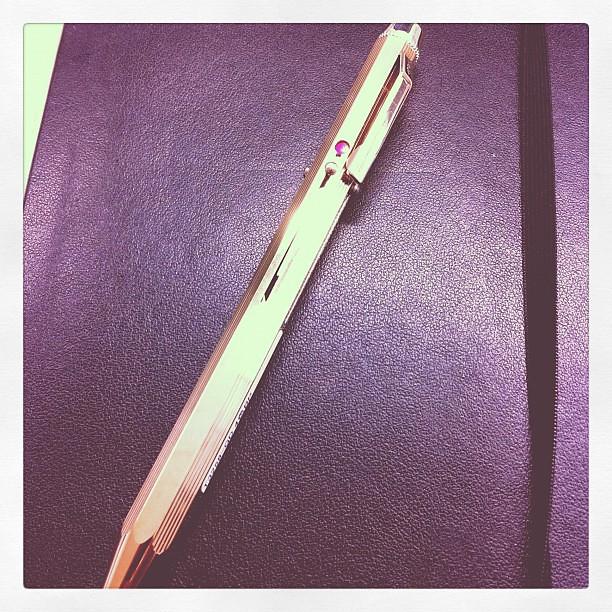 ZOZOTOWNのポイントで買ったボールペン届いた。