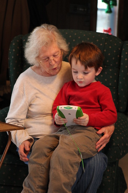 LeapPad with Granny