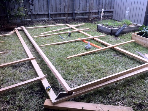 Laying out out rafters