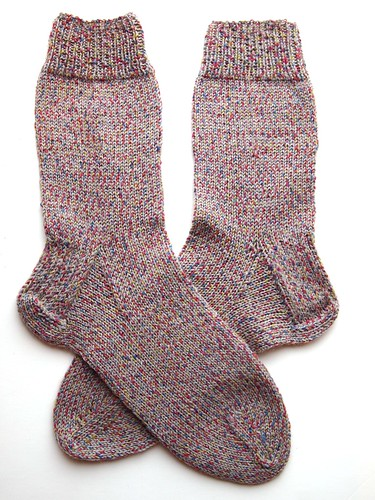 Hannah's every day socks finished