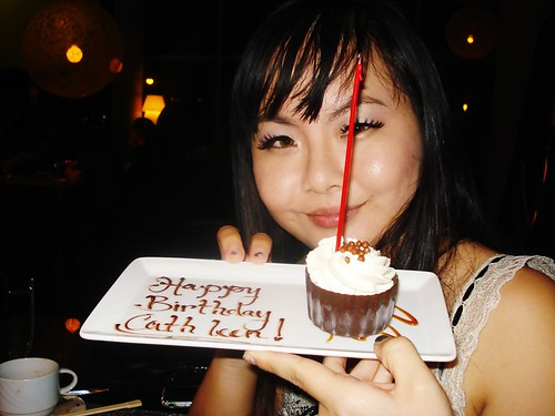 Me and Birthday Dessert
