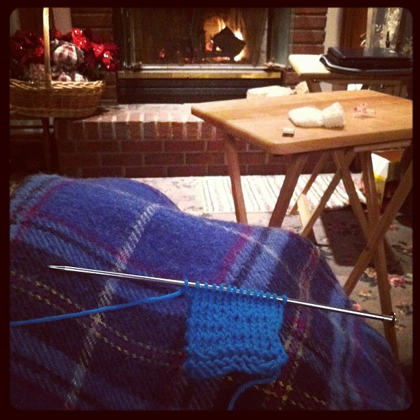 Knitting! #sortof