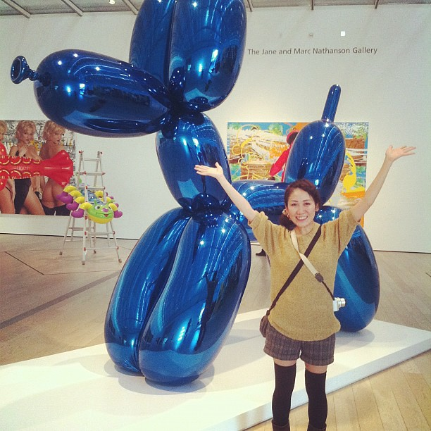 Miki and Jeff Koons