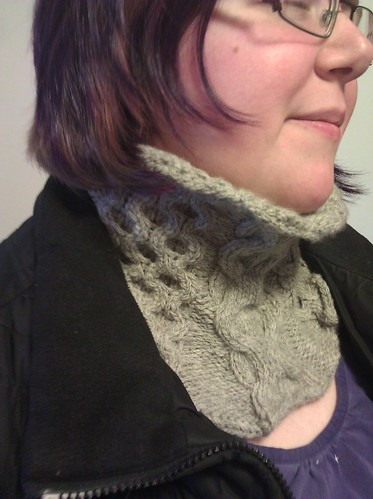 Finished cowl project