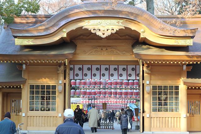年末の大國魂神社