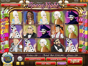 Opera Night Slot Machine