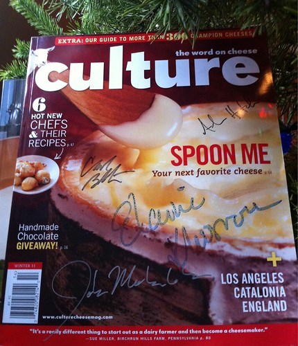 autographed copy of Culture Rush Creek issue