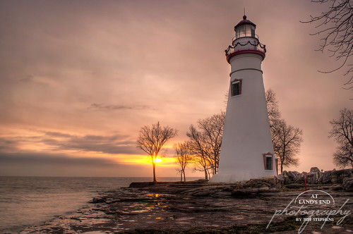 travel winter ohio favorite lighthouse lake tourism sunrise midwest marblehead lakeerie historic oh portfolio 2x3 alep ohiotravel