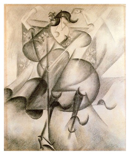 012-Bailarina española en el Tabarin 1912.1913- Gino Severini