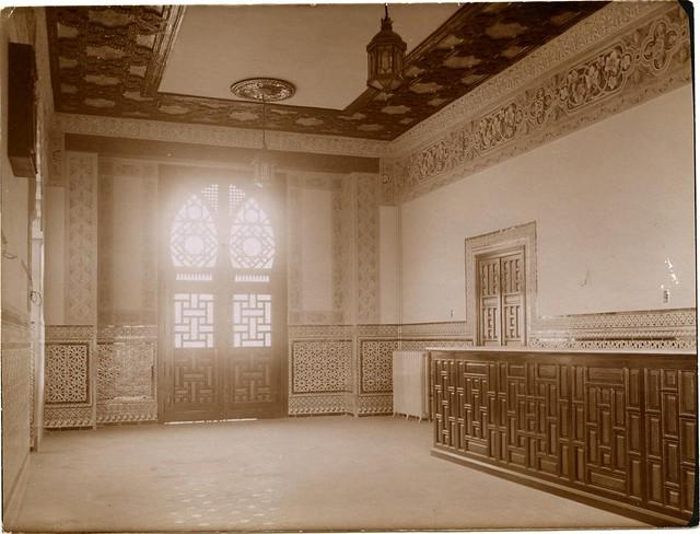 Estación de Ferrocarril de Toledo a comienzos del siglo XX. Fotografía de Pedro Román Martínez. Centro de Estudios Juan de Mariana. Diputación de Toledo