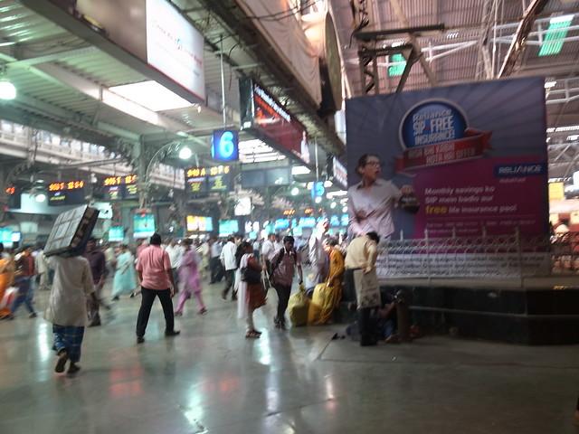 Chhatrapati Shivaji Terminus, Mumbai, Dec 2011. GR149