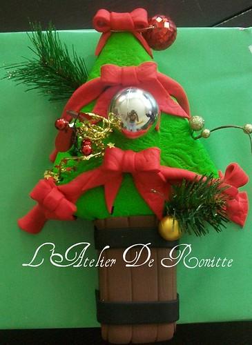 Yılbaşı Ağacı Pasta by l'atelier de ronitte