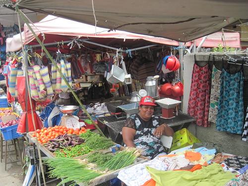 Market Vendor in Chemin Grenier