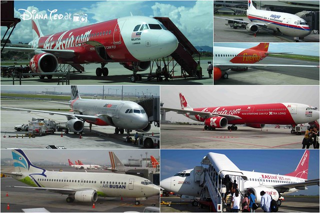 DT - 6 Different Airlines
