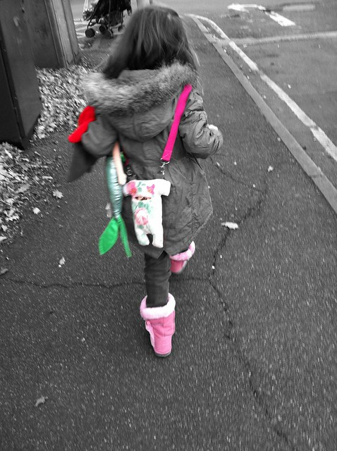 Lillia, Aerial, Gregoire & pink boots :)