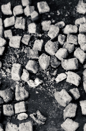 garlic and rosemary croutons