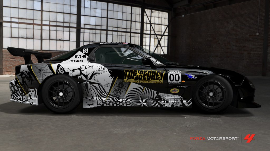 Forza 4 custom cars for Car paint designs pictures