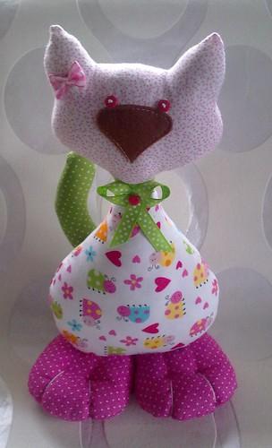 Esta gatinha vai para a minha AS by ♥Linhas Arrojadas Atelier de costura♥Sonyaxana