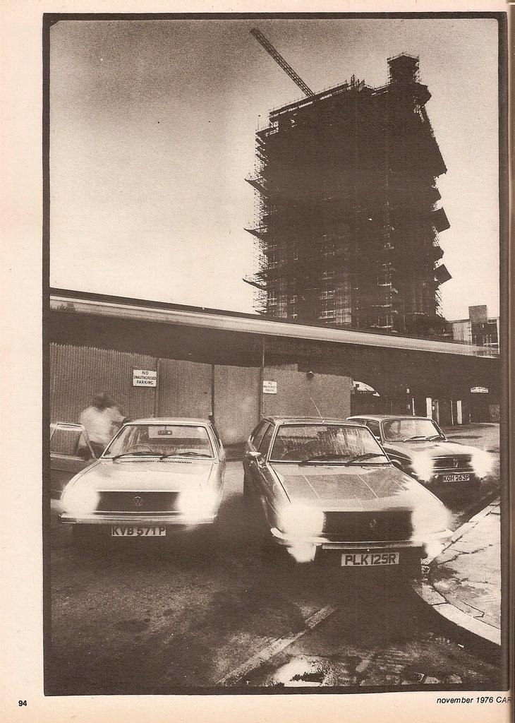 Austin Maxi HL - Renault 20 TL & Volkswagen Passat LS Group Road Test 1976 (1)