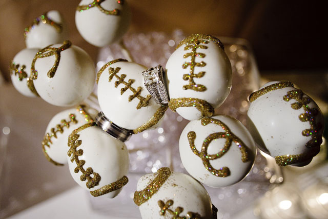 Football and Chanel Cake Pops