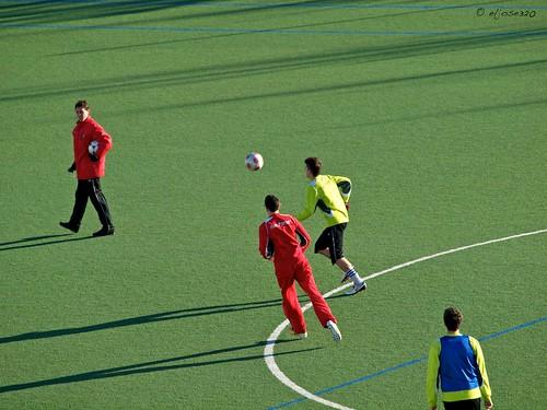 Estreno en el fútbol by Maclympico320