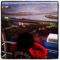 20120104葛西臨海公園の観覧車