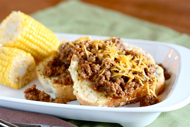Open face sloppy Joes 5