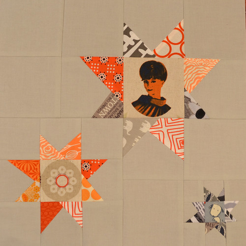 Stargazing block for Debbie