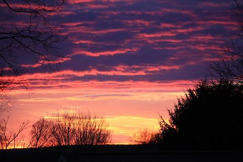 sunset connecticut skyonfire easthaddam cloudsstormssunsetssunrisessunsetmoodus