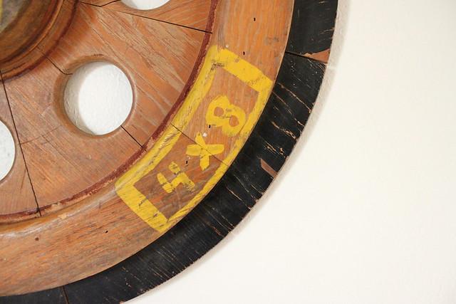 Wheel Art - Close-up