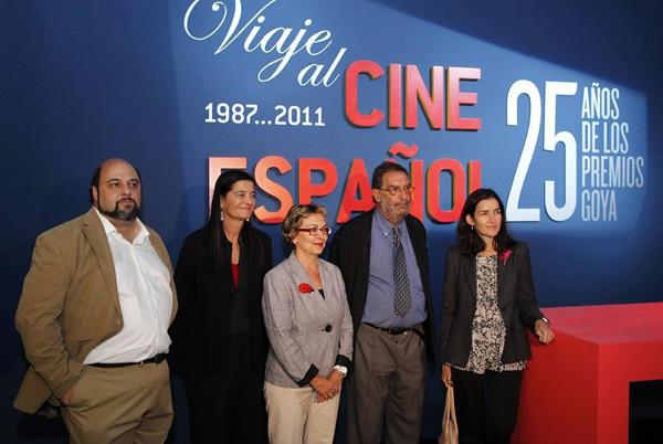 inauguracion viaje al cine español