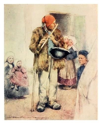 005-El flautista ciego-Brittany 1912- Mortimer y Dorothy Mempes