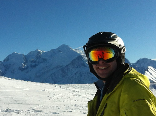 Sunshine + Snow + Views = Smiles