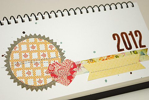 Picadilly (Basic Grey) 2012 desk calendar