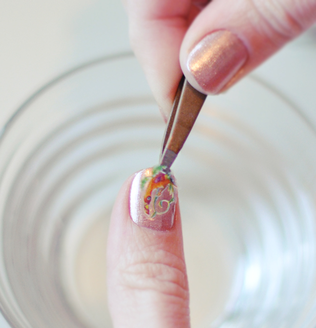 diy nail art water decals raemon becca