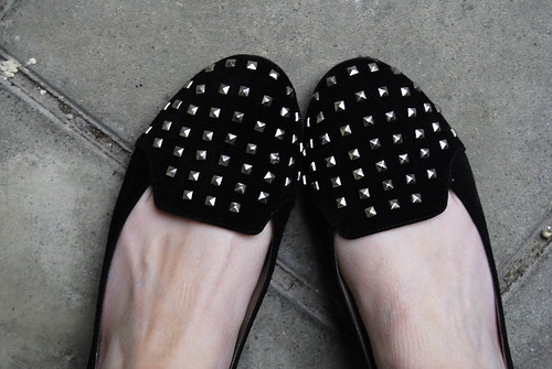 New kids in Town: DV by Dolce Vita studded loafers